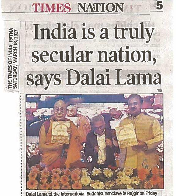 Dalai Lama article