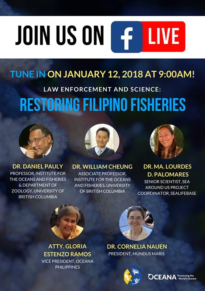 Oceana event Philippines 2018