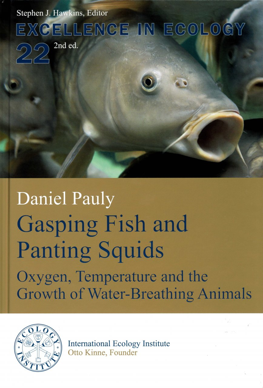Daniel Pauly publishes second edition of his book on how fish breathe and grow