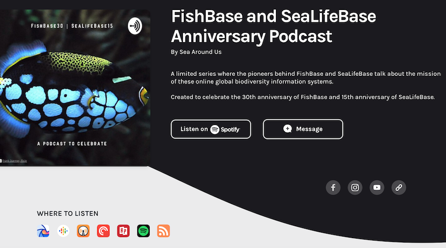 A conversation with Rainer Froese about FishBase