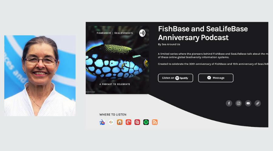 Cornelia Nauen on how she helped make FishBase a reality
