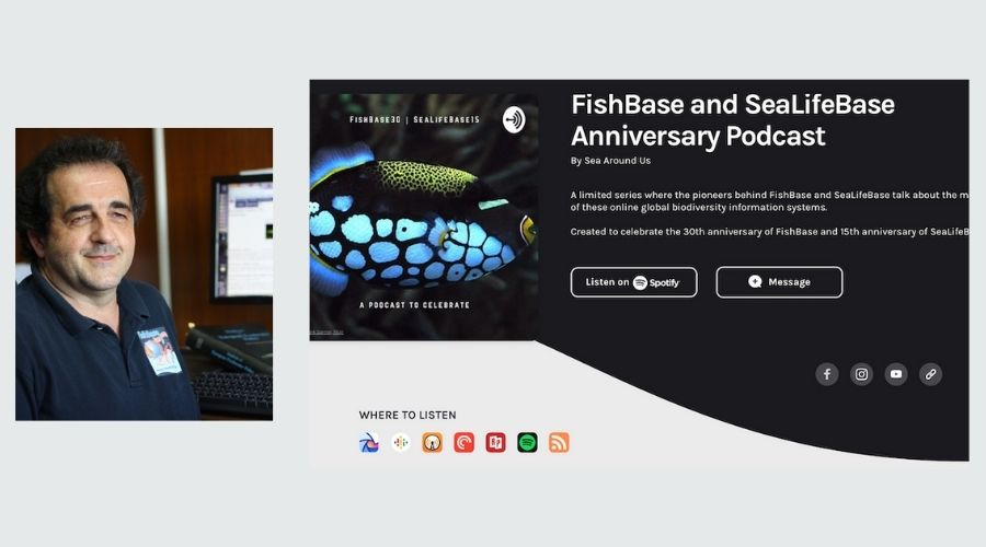 Nicolas Bailly on how SeaLifeBase was built from an empty shell of FishBase