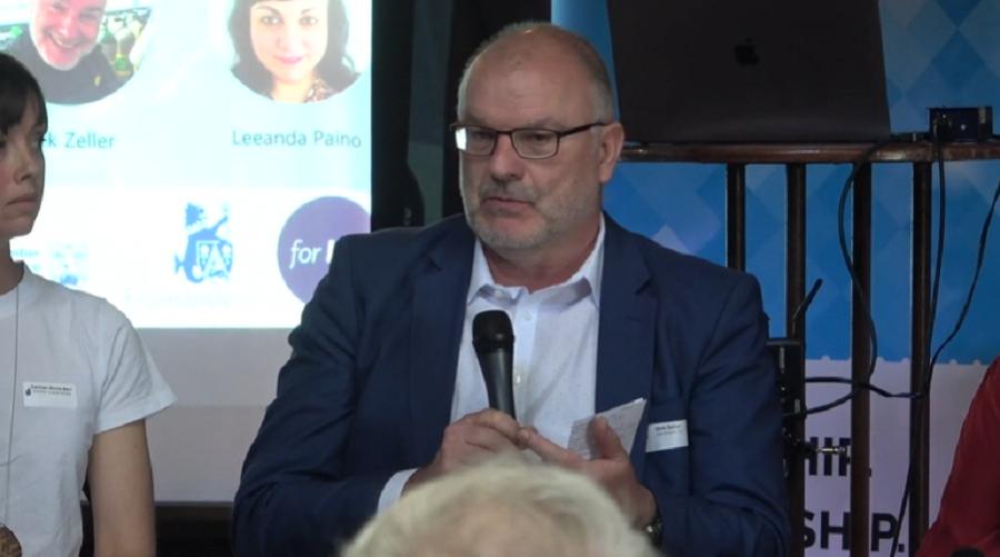 Dirk Zeller talks about conservation vs. blue economic growth in Western Australia